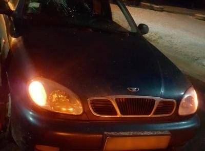 У Хотині водій «Ланоса» збив на «зебрі» літню жінку - фото