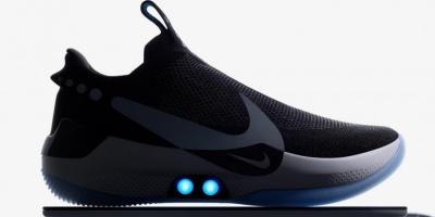 Компанія Nike презентувала кросівки з автоматичної шнурівкою