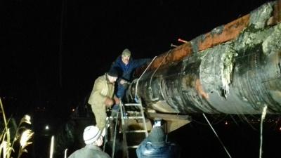 Чернівціводоканал ліквідував масштабний витік на водогоні