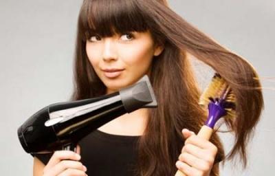 Як не можна сушити волосся