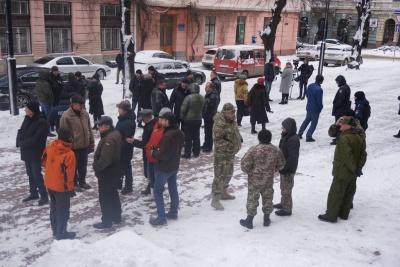 Непорозуміння серед бійців АТО: у Чернівцях розпочалися збори - відео