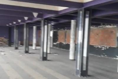 У мережі показали руїни, в які перетворився нічний клуб «7 небо» в Чернівцях - відео