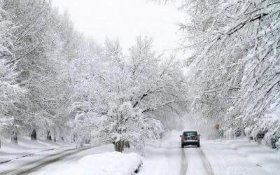 В Україну йдуть сильні снігопади, Буковину теж засипе