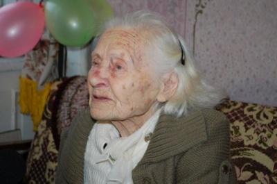 У Чернівцях найстарша мешканка відзначила 104-річчя