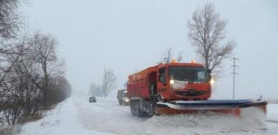 В 4 областях України обмежено рух транспорту