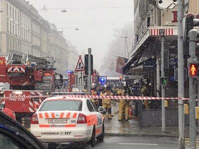 У Женеві відбувся вибух біля консульства США - фото