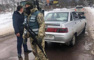 На Закарпатті прикордонники та військова прокуратура проводять спецоперацію