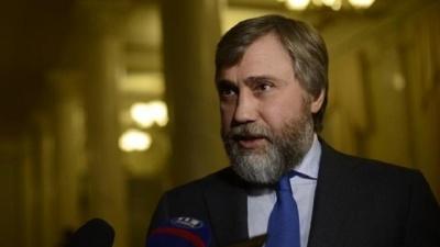 Розвідка перевіряє наявність російського громадянства у нардепа Новинського