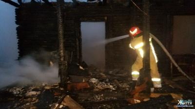 На Буковині у пожежі загинув чоловік - фото