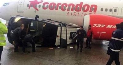 У курортній Анталії лютують торнадо: пошкоджено аєропорт та центр міста - фото
