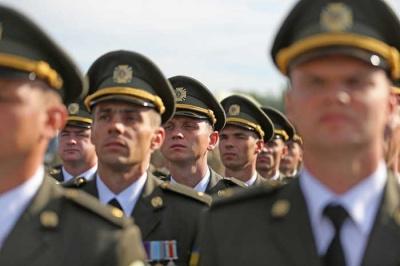 Від 14 до 18 тисяч гривень: офіцерам збільшили грошове забезпечення