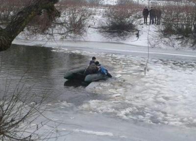 На Волині на крижині, що пливла річкою, виявили тіло першокласника