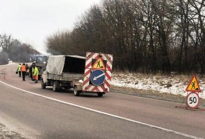 """""""Укравтодор"""" розпочинає ямковий ремонт на автомагістралях"""