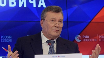 Янукович прокоментував ухвалений йому вирок