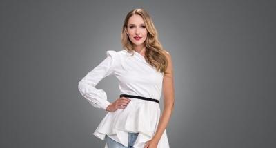 Три стильных образы Кати Осадчей на Украинской неделе моды