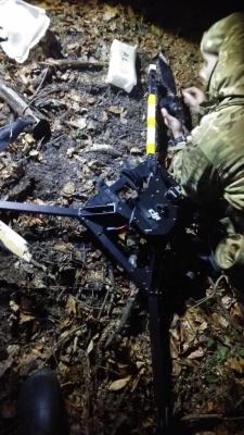 На Буковині прикордонники знешкодили квадрокоптер - фото