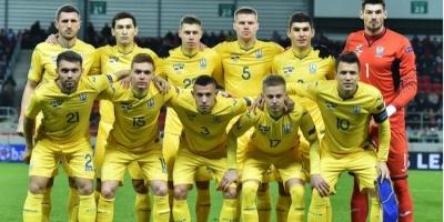 Українська збірна втратила дві позиції у рейтингу ФІФА