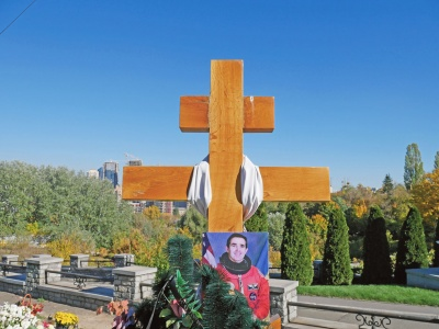 На могилі Каденюка встановлять пам'ятник у вигляді ракети