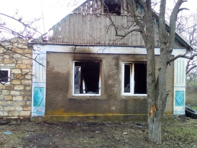 На Херсонщині у пожежі загинули двоє дітей