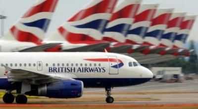 Ураган зніс літак під час посадки в Лондоні - відео