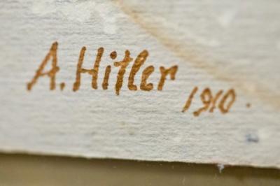 Картини Гітлера не змогли продати на аукціоні