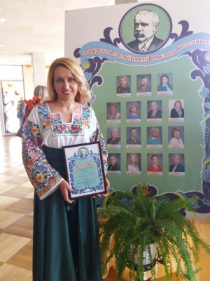 ЗНО на високі бали здають без репетиторів: вчителька Кельменецького ліцею має понад сто переможців олімпіад і конкурсів