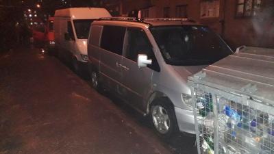 У Чернівцях зіткнулися 4 автомобілі, один з водіїв покинув місце ДТП