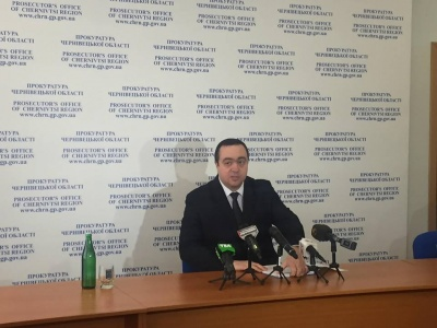 Прокурор Буковини заявив про високий рівень розкриття злочинів у регіоні