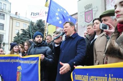Вибори президента: скільки довірених осіб на Буковині має Ляшко