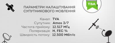 Телеканал ТВА отримав ліцензію на супутникове мовлення