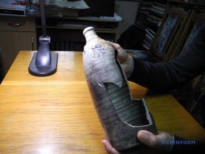 У Хотинській фортеці знайшли 250-річну пляшку