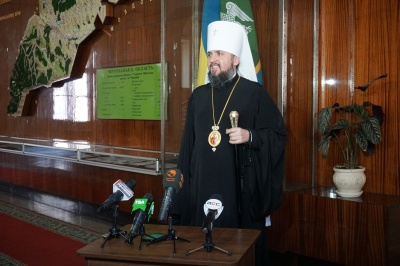 Митрополит Епіфаній зустрівся з представникаи влади у Чернівцях
