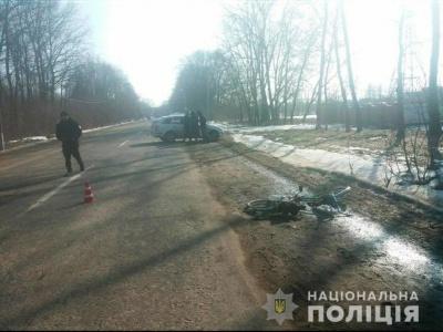 На Буковині водій збив велосипедиста