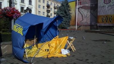 У Чернівцях влада вирішила незаконно заробити на агітаційних наметах, – Луценко