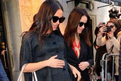 Вагітна Меган Маркл влаштувала вечірку baby shower в Нью-Йорку