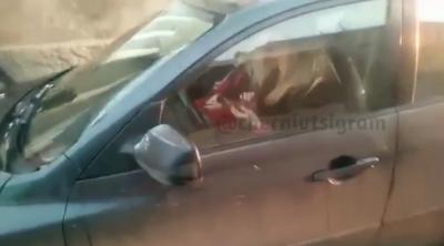 «Це норма?»: у Чернівцях водійка користувалася мобілкою під час кермування - відео