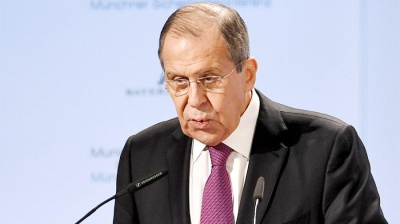 "Лавров заявив, що Україна та НАТО готують ""незаконну спробу прориву"" через Керченську протоку"