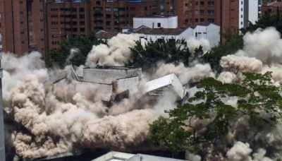 У Колумбії знесли будинок Пабло Ескобара
