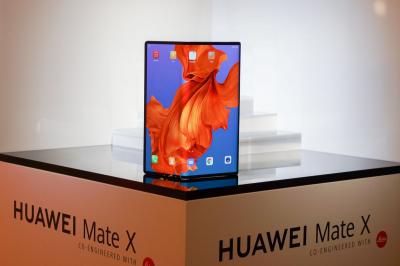 Компанія Huawei представила гнучкий смартфон Mate X