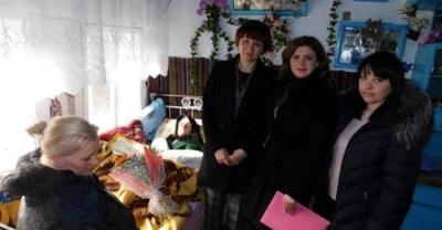 На Буковині довгожителька відзначила 100-літній ювілей