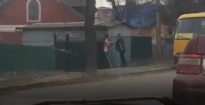 У Чернівцях водій маршрутки побив пасажира - відео