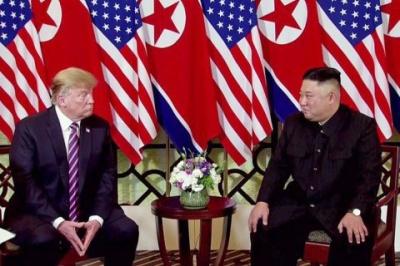 Трамп прокоментував зустріч із Кім Чен Ином