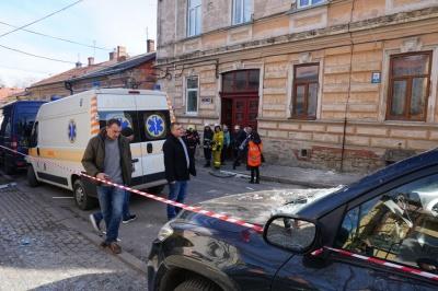 Вибух у центрі Чернівців: кількість травмованих зросла до чотирьох