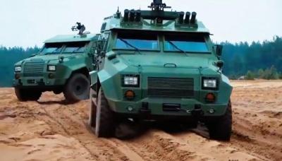 """Український бронеавтомобіль """"Барс-8"""" пройшов держвипробування"""