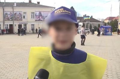 Візит Тимошенко на Буковину: до агітації за кандидатку залучили школяра – відео