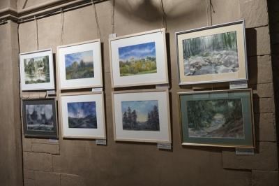 «У пейзаж потрібно закохатися»: художник з Чернівців розповів, як пишеться картина