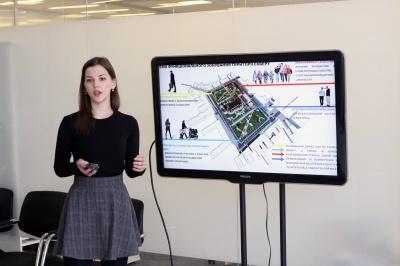 Проект парку – замість ринку: архітекторка з Чернівців перемогла у професійному конкурсі