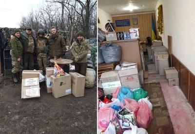 Буковинські волонтери повезли на Схід продукти й теплі речі - фото