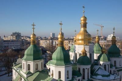 Софійський собор у Києві відреставрують, богослужіння скасовані
