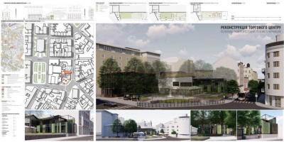 Площа та готель: як хочуть змінити сквер на вулиці Університетській